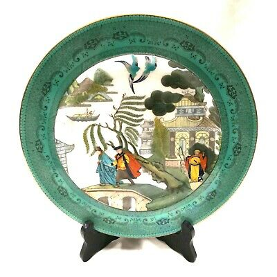 Rare Royal Doulton Willow Pattern Story Plate E7211 - Chang & Koongshee Escape • 50£