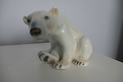 Bing & Grondahl  Royal Copenhagen Polar Bear 1629. Designed By Dahl Jensen. • 82£