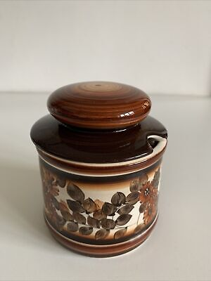 Jersey Pottery Glazed Preserve Pot • 5£