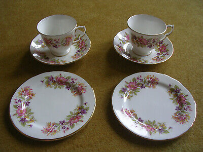 6 Pieces Of Colclough Roses Pattern 8581 China • 2.99£