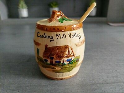 Manor Ware Preserve Potwith Spoon.......carding Mill Valley • 2.99£