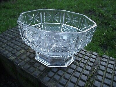 Italian Art Deco Fruit / Trifle / Punch Bowl - Very Large Centrepiece • 30£