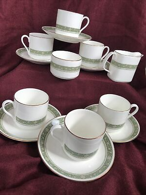 Lovely Vintage Retro  Royal Doulton Rondelay  Coffee Set 14 Pieces • 6.99£