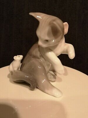 LLADRO CAT AND MOUSE 1984 No 5236 • 23.99£