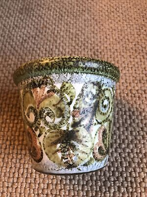 1970's Denby Glyn Colledge Design Handpainted Plant Pot 11cm Tall • 4.50£