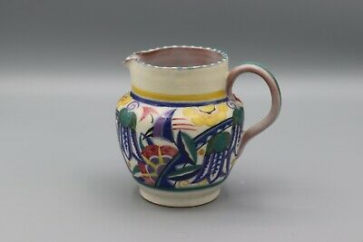 Poole Pottery Traditional Art Deco Jug Xp Pattern Bluebell Flowers • 49.95£