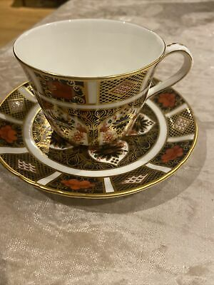 Royal Crown Derby Cup & Saucer 1128 First Quality Excellent Condition • 55£