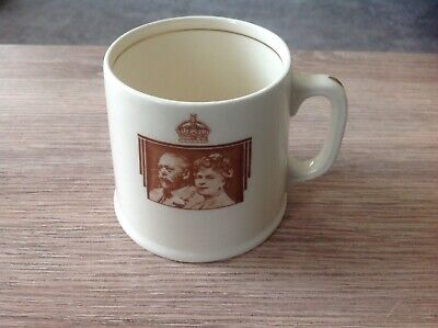 Royal Doulton Cup - King George V & Queen Mary 1935 Silver Jubilee • 4.99£
