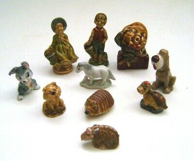 10 Piece Wade Collection - Large Nursery Rhymes Whimsies, Disney Animals + • 4.99£