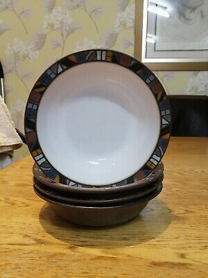 Denby MARRAKESH 7  Cereal / Soup Bowl • 7.95£