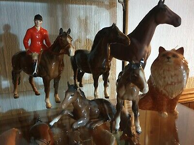 Collection Of Vintage Beswick Horses. • 399£
