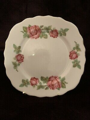 Royal Vale Floral China Pink Roses Tea Plate  • 1.50£