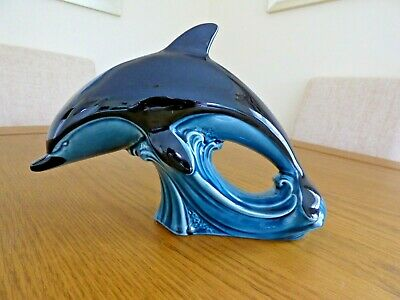 Poole Pottery Dolphin Ornament • 17£