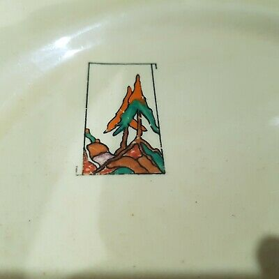 Clarice Cliff Moderne Norge Teaplate • 67.94£