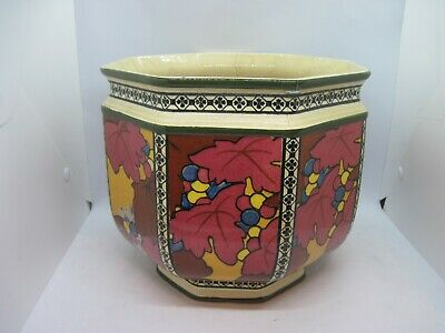 Antique Royal Doulton 8 1/2  Planter Jardiniere  • 54.99£