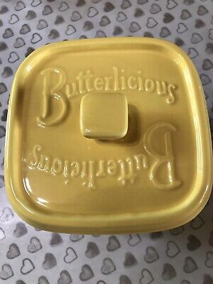 Wade Vintage Collectibles Ceramics Butterlicious Butter Dish • 12.50£