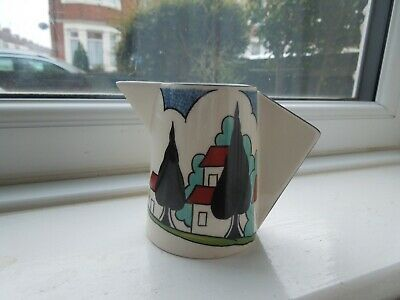 Clarice Cliff May Avenue Wedgwood Conical Milk Jug • 145£