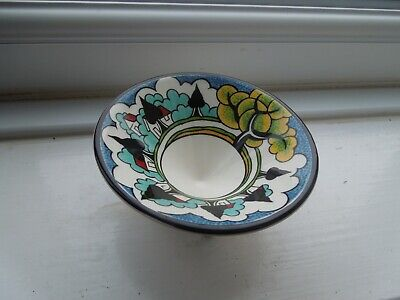 Clarice Cliff May Avenue Wedgwood Conical Sugar Bowl • 145£