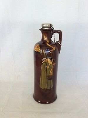 Royal Doulton - Kingsware WIZARD Flask • 185£