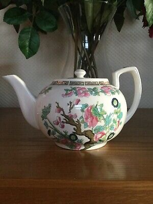 Vintage Hammersley & Co Indian Tree Bone China Teapot • 35£