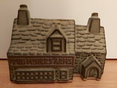 Tremar Pottery THE MINERS ARMS Money Bank • 7.60£