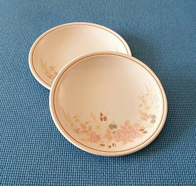 Boots *hedge Rose* Two 7.6  Side Plates   #excellent Condition# • 9.95£