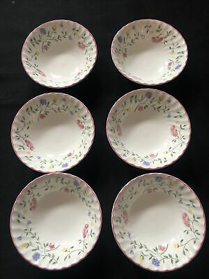 Johnson Brotheres Summer Chintz Cereal Bowls X 6 • 6.99£