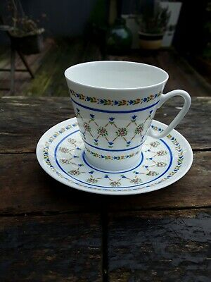 Vintage Russian Porcelain Coffee Cup And Saucer  • 14£