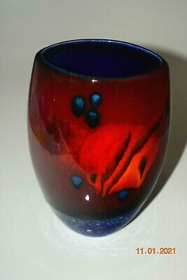 Poole Pottery Vase Approx 8  Height • 38£