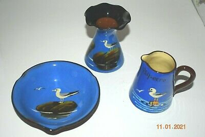 Torquay Pottery 3 Pieces • 0.01£