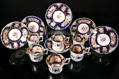 Antique Coffee Service Cup And Saucer Possibly Coalport Circa 1820 • 99.99£