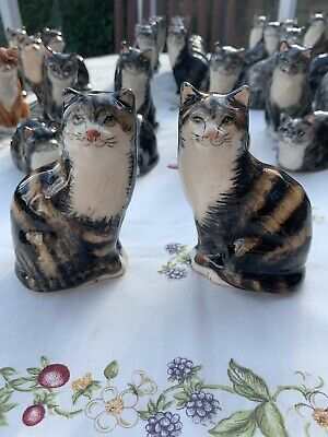 A Beautiful Old Pair Of Tortoise Shell Babacombe Cats. Perfect Condition !!!! • 12.50£