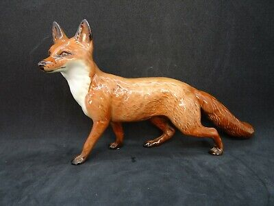Early Vintage Beswick Red Fox Model 1016A In Excellent Condition • 48£