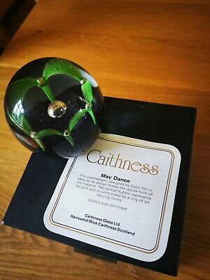 Caithness  Paperweight - May Dance • 6.40£