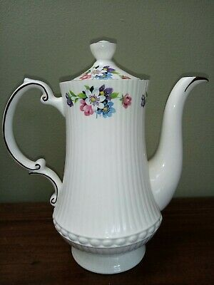 Crown Fenton Fine English China, Coffee Pot, Vintage • 25£