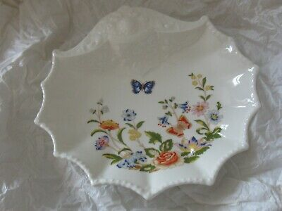 Vintage Aynsley Tableware - Alexander/shell Shaped Dish(cottage Garden Pattern)  • 17£