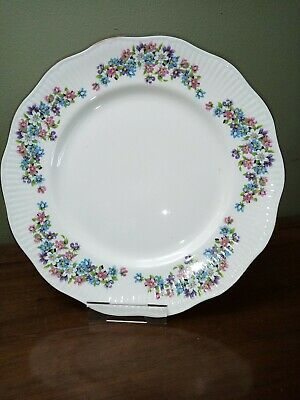 Crown Fenton Fine English China, 27cm Dinner Plate, Vintage • 6.50£
