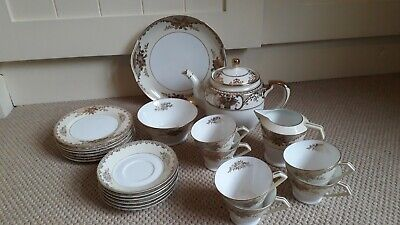 ANTIQUE  JAPANESE NORITAKE  22 Piece Tea Set  Porcelain Circa 1908 • 60£