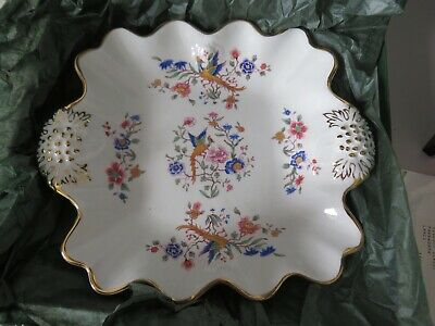 Hammersley Howard Sprays Bone China Floral  Serving Plate Bowl Vintage VGC • 10£