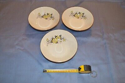 Three Pudding Dishes Made By Swinnertons Staffordshire England. Good Condition. • 12£