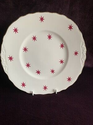 Royal Vale Red Star Bone China Bread & Butter/Serving Plate • 6£