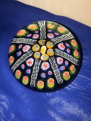 VINTAGE Scottish Millefiori Paperweight • 15£