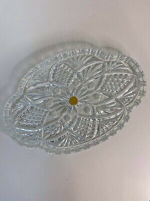 Sowerby Tyneside Glassware Thick Glass Tray Ornament • 19.99£