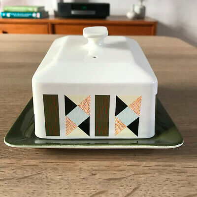 Vintage Beswick Ceramic Cheese / Butter Dish • 15£