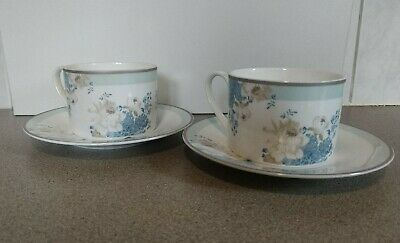 LAURA ASHLEY Set Of 3 Cups & Saucers • 15£
