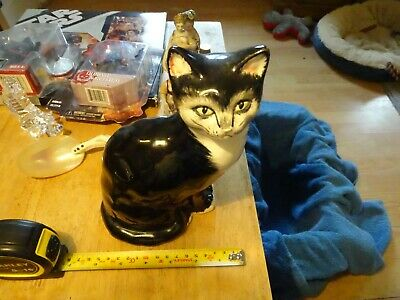 Babbacombe Pottery Cat 9 Inches Sitting • 19.99£