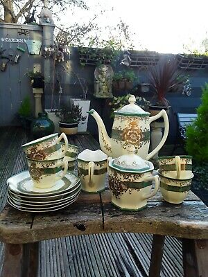 Vintage Meito China Hand Painted Coffee Set  • 35£