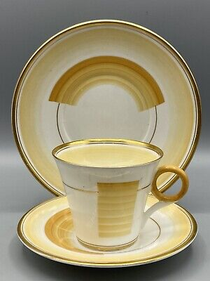 Shelley Patches And Shades Trio - Cup, Saucer And Side-plate 12248 Regent Shape • 14.95£