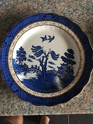 7 1/2 Inch Vintage Booths Real Old Willow A8025 Decorative Plate Great Condition • 2.40£