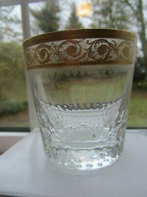 Saint St Louis Crystal Thistle Whisky Glass • 20£